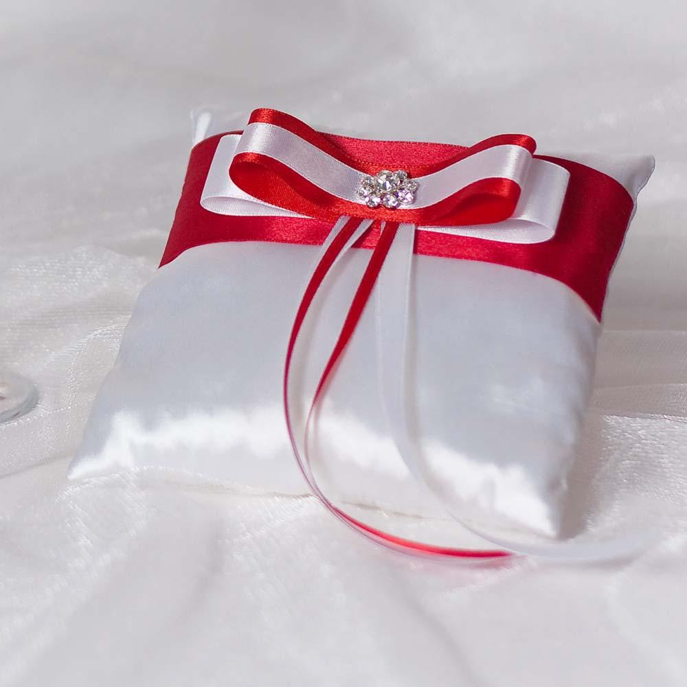 Как сделать подушечки для колец на свадьбу своими руками