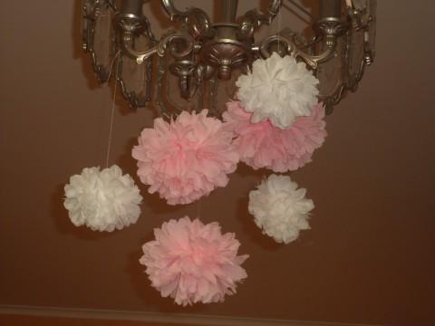 Подвестные цветы из бумаги