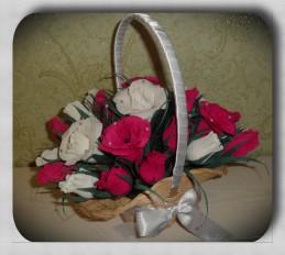 Букет из конфет «Розы»