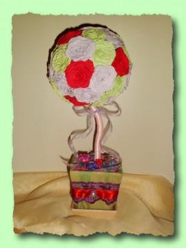 Топиарий Цветочный шар