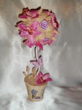 Топиарий «орхидея»