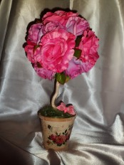 Топиария «Роза»