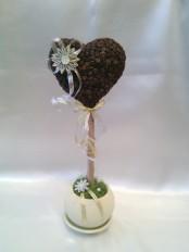 Топиарий «Кофейное сердце»