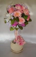 Топиарий «Роза фиолет»